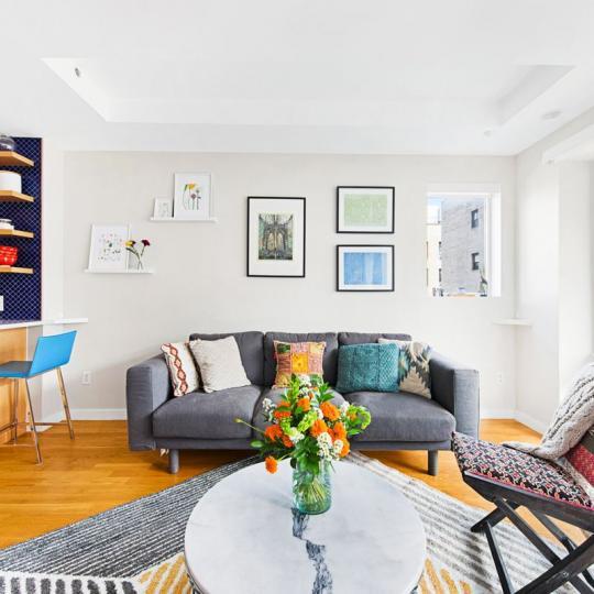 Living Room- The Prospect Building- 825 Classon Avenue- NYC condo for sale