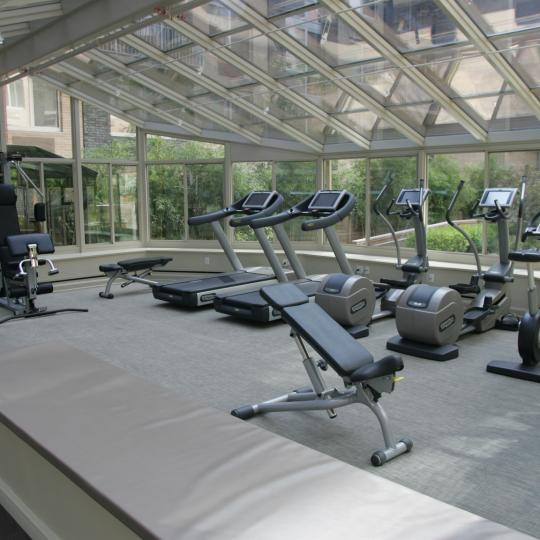 505 West 47th Street NYC Condos - gym at The 505