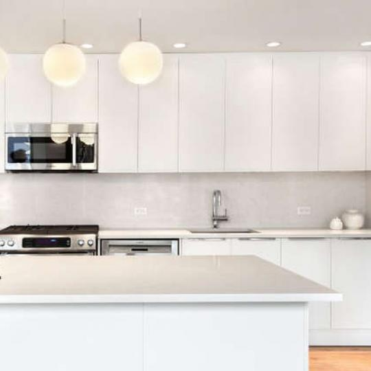 Kitchen at 23 West 116th Street in NYC - Condos for sale