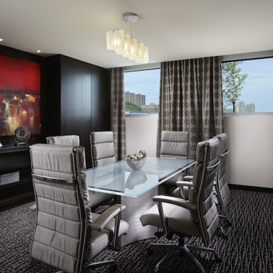 Dining room - The Avenue Collection - Condominium for sale in Weehawken