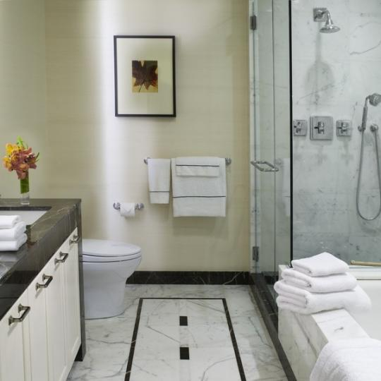 The Brompton NYC Condos for Sale Shower Manhattan New Construction