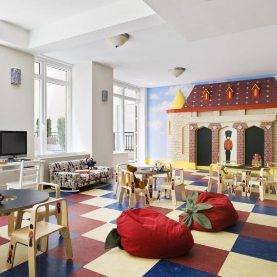 The Brompton NYC Condos for Sale Shower Children's Area