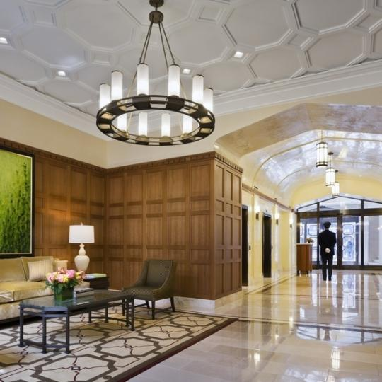 The Brompton NYC Condos for Sale Shower Lobby New Construction