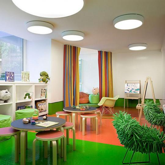 The Caledonia 450 West 17th St New Construction Condominium Playroom