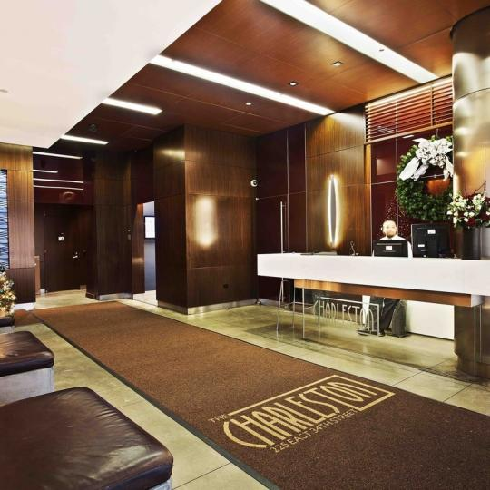 he Charleston NYC Condos – 225 East 34th Street Lobby