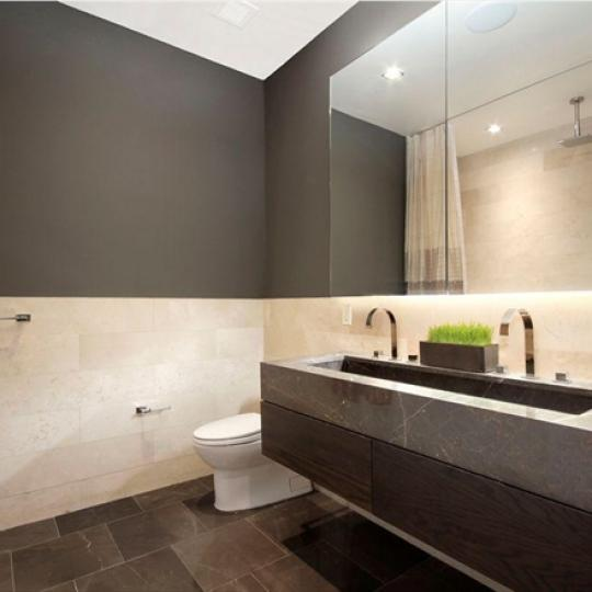 The Clement Clarke NYC Condos – 140 West 22nd Chelsea Bathroom