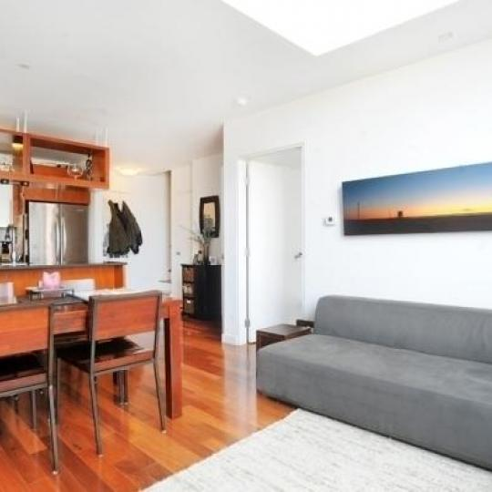 Livingroom at The Foundry - Apartments for Sale in Hunters Point