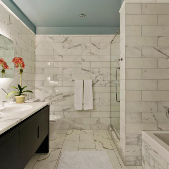 The Grand Madison Bathroom - Gramercy Park NYC Condominiums