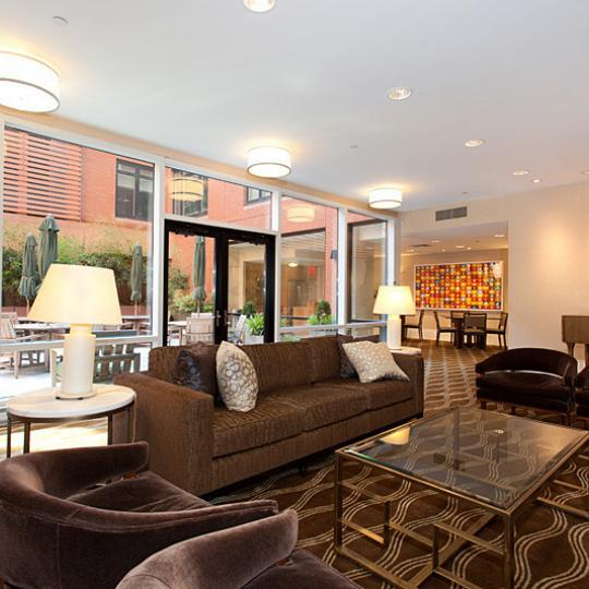 The Harrison Lounge - 205 West 76th Apartments for Sale in Upper West Side
