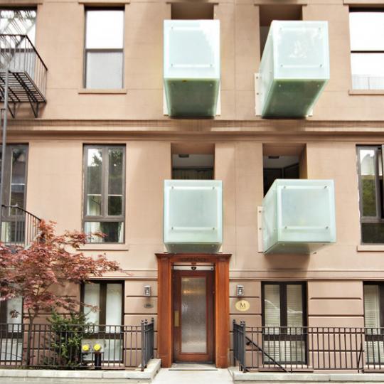 Entrance - The M at Beekman - Manhattan Apartments