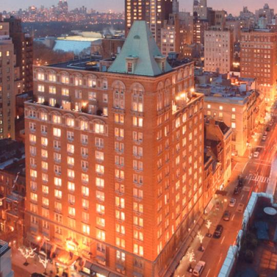 25 East 77th Street Building Night Photo- Manhattan Condos