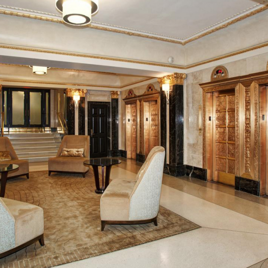 The Olcott Lobby- 27 West 72nd Street Condos for Sale