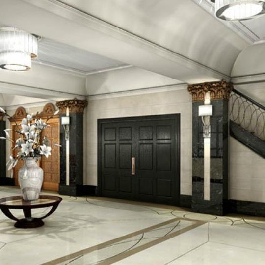 The Olcott Lobby Stairs- 27 West 72nd Street Condos for Sale