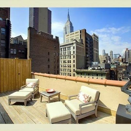 Terrace - Parkwood Building- Condominiums - Midtown East