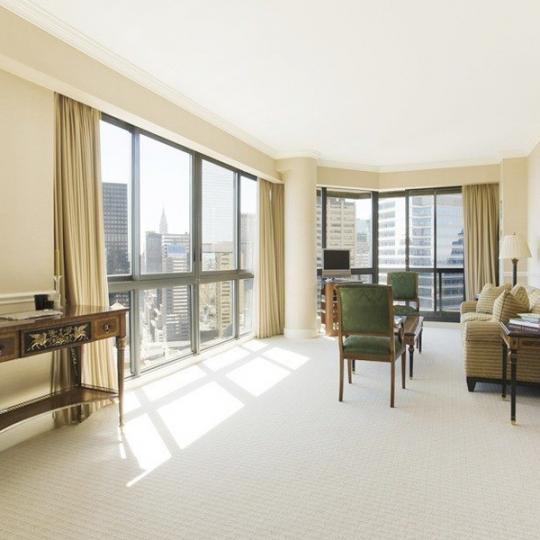 Condos for sale at 200 East 61st Street in NYC - Living Room