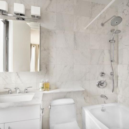 Condos for sale at 161 West 61st Street in Lincoln Square - Bathroom