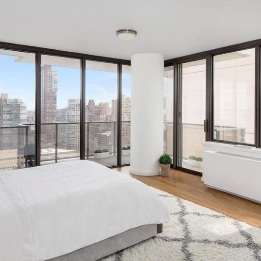 Bedroom at 161 West 61st Street in Manhattan - Condos for sale