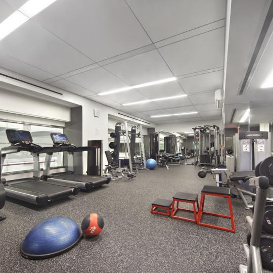 Condos for sale at The Alfred in NYC - Fitness Center