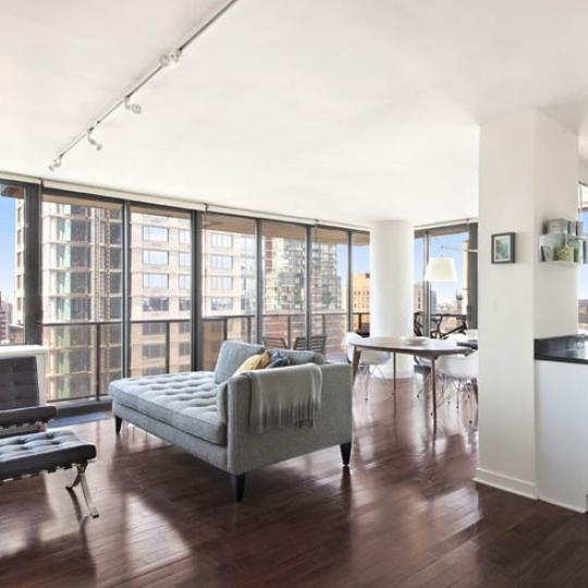 Apartments for sale at The Alfred in Lincoln Square - Living Room