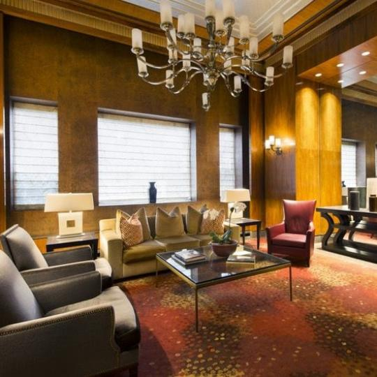 Lounge at 161 West 61st Street in Lincoln Square - Apartments for sale