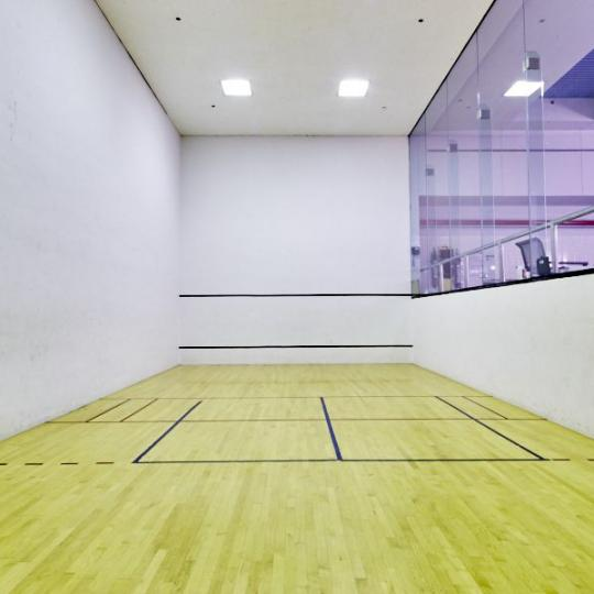 Squash Court at 161 West 61st Street in NYC