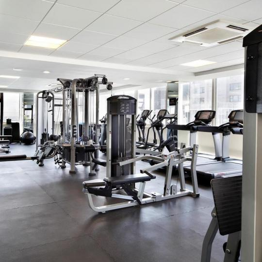 Fitness Center at The Concorde in NYC - Apartments for sale