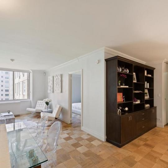 Living Area at 220 East 65th Street in Upper East Side