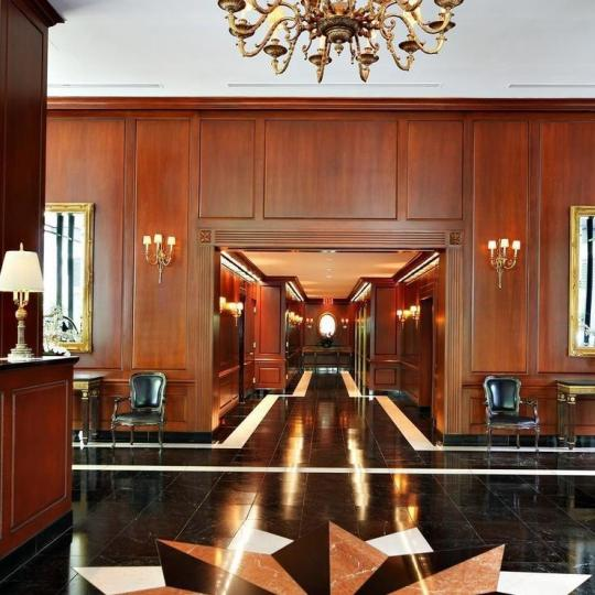 The Building's Lobby at The Concorde in Manhattan