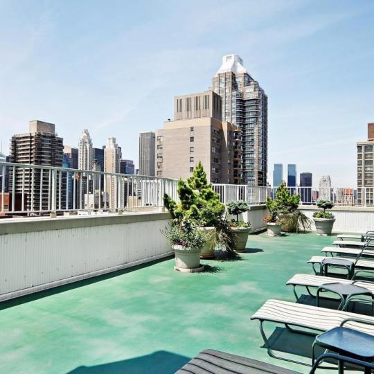 Condos for sale at 220 East 65th Street in NYC - Rooftop Deck