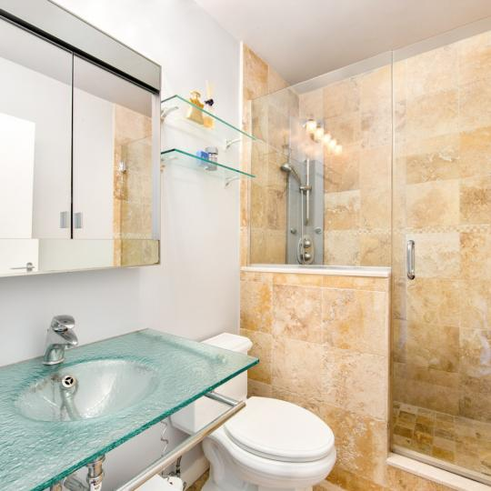 Bathroom at 145 East 48th Street in Manhattan - Apartments for sale