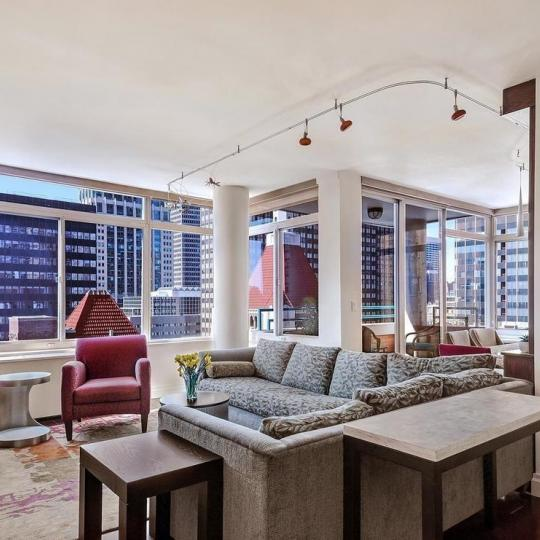 Condos for sale at The Cosmopolitan in Manhattan - Living Room