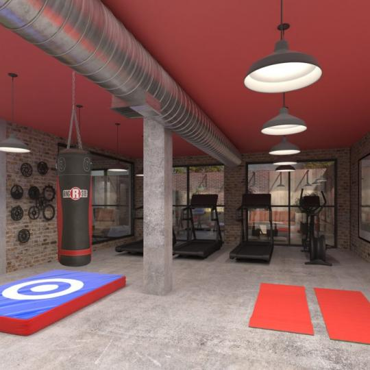 Fitness Center at The Decker in NYC - Apartments for sale