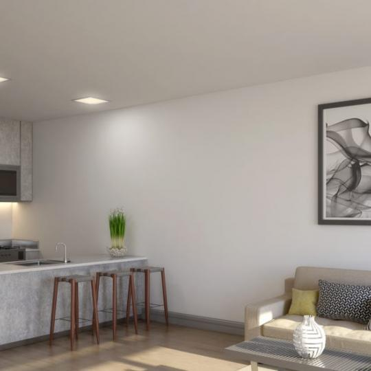 Living Area at 21-10 44th Drive in Long Island City - Condos for sale