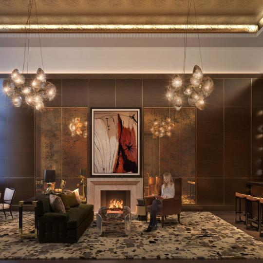 Lounge at The Kent in Upper East Side - Condos for sale