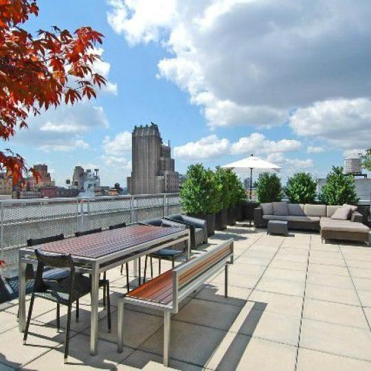 Condos for sale at 121 West 19th Street in Chelsea - Rooftop Deck