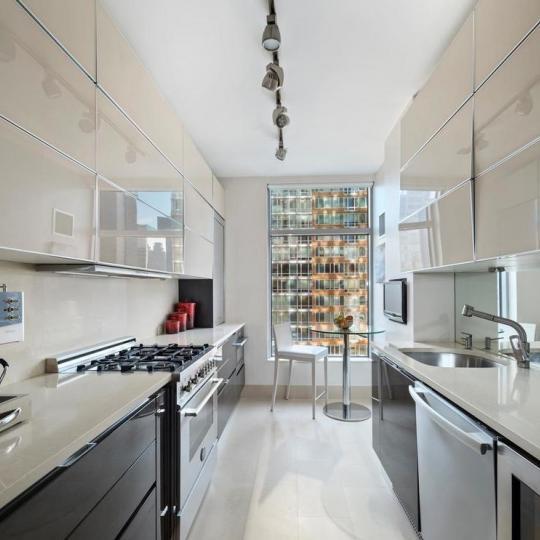 Open Kitchen at 250 East 54th Street in Sutton Place