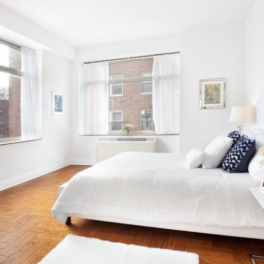 Bedroom at The Siena in Manhattan - Apartments for sale