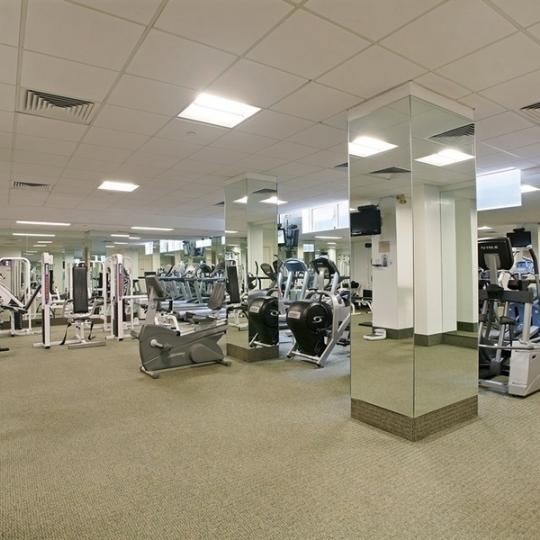 Fitness Center at The Siena in Upper East Side - Condos for sale