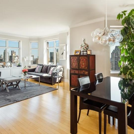 Living Area at The Siena in NYC - Condos for sale