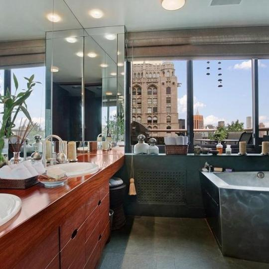 Bathroom at The Stanford in Manhattan - Apartments for sale