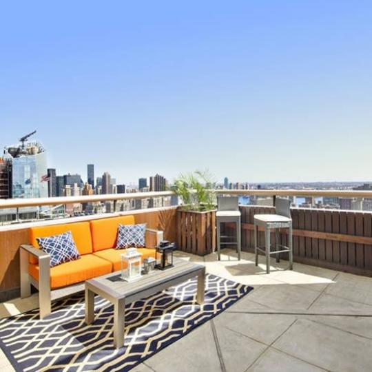 Private Terrace at 45 East 25th Street in Nomad