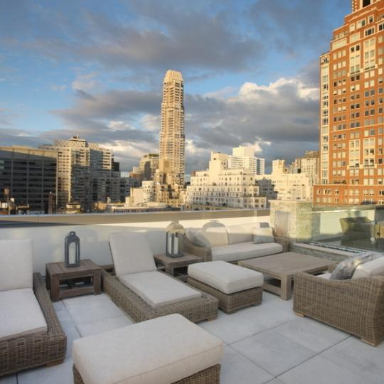 The Touraine - 165 East 65th Street - Terrace - Manhattan Condos for Sale