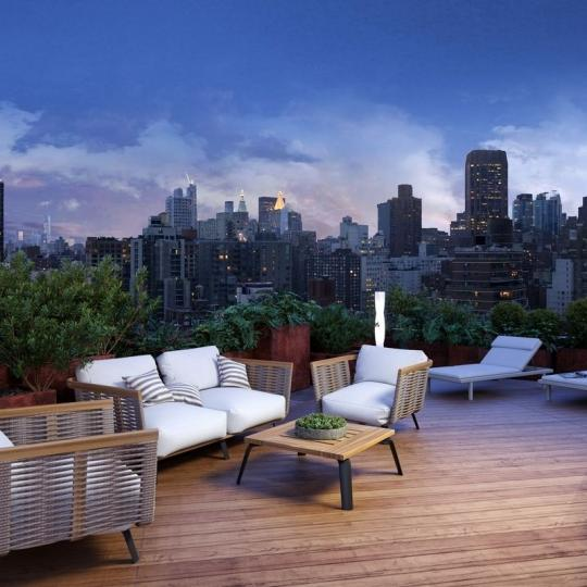 Apartments for sale at The Vantage in NYC - Rooftop Deck
