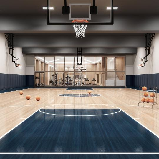 Condos for sale at 635 West 59th Street in Manhattan - Baskettball Court