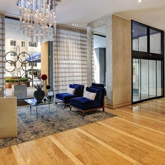 The Building's Lobby at Tower 58 in Manhattan - Condos for sale