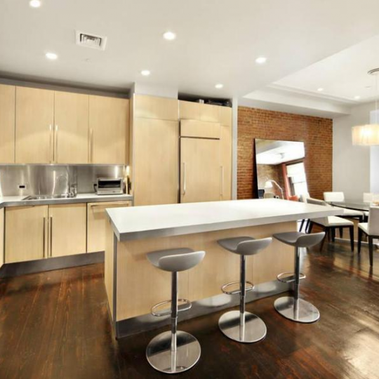 Kitchen Space - 8 Warren Street - Tribeca Condos
