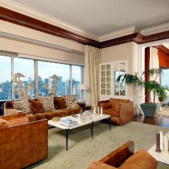 Trump Palace- Upper East Side Condominium - Bedroom and view