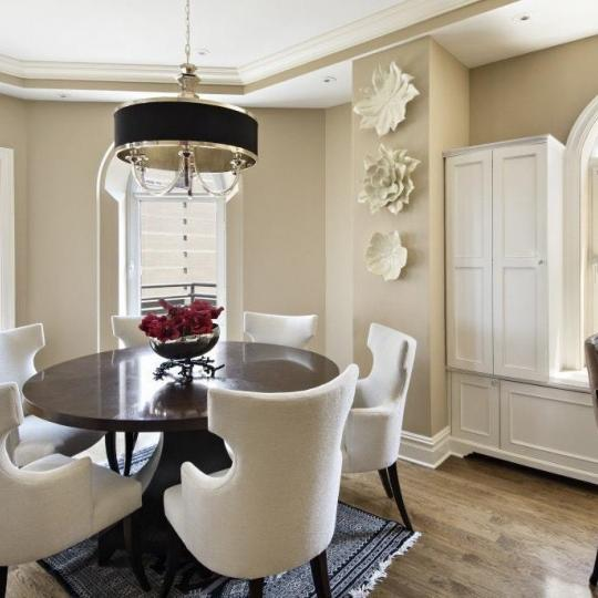 Dining Area at Trump Parc in Manhattan - Apartments for sale