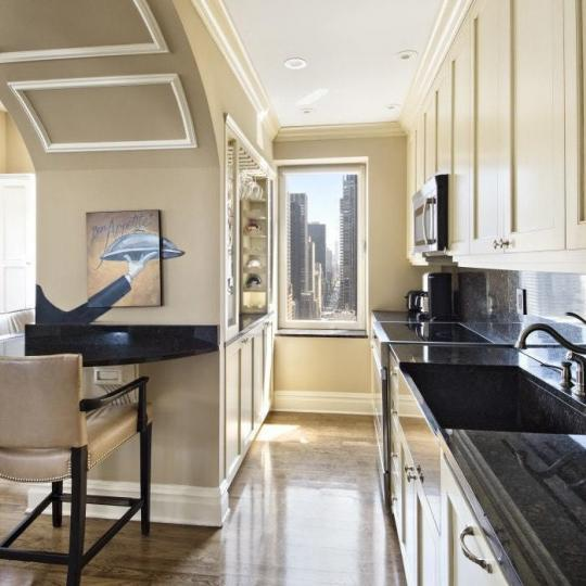 Condos for sale at 106 Central Park South in NYC - Open Kitchen