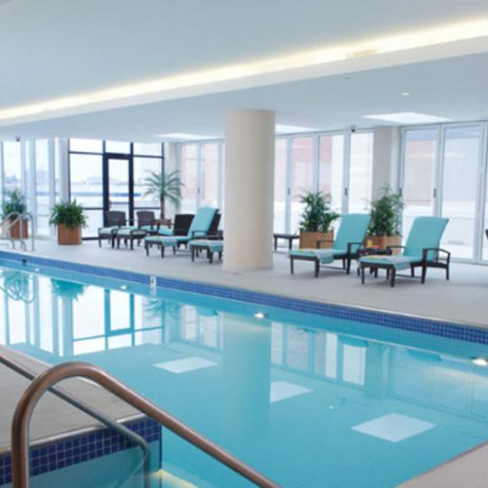 Condos for sale at Trump Parc in NYC - Pool